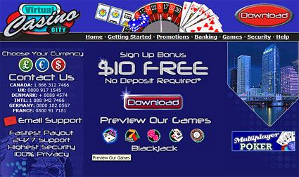 casino city online gratis